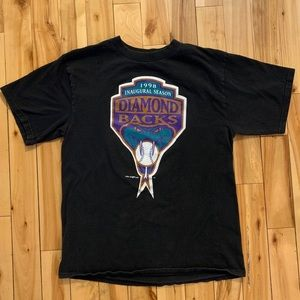 Vintage Arizona Diamondbacks LOGO 7 T-shirt